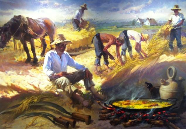 Conrado Meseguer Muñoz el pintor de la paella
